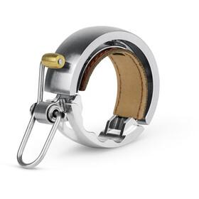 Knog Oi Luxe Fahrradklingel silver